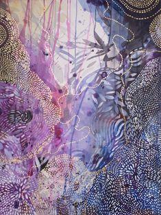 Shimmering Water by Helen Wells Paintings For Sale, Original Paintings, Original Art, Ink Paintings, Abstract Watercolor, Abstract Art, Watercolor Sketch, Sketch Art, Yellena James