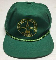 5a293902100 North Dakota Well Drillers Association Hat Oilfield Oil Gas Cap Petroleum  Energy  SanSun  BaseballCap