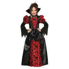 Disfraz de Vampiresa Gótica Infantil