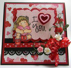 very cute valentine's day card diy!!