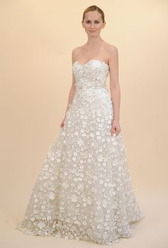 Brides: Francesca Miranda - Spring 2012 | Bridal Runway Shows | Wedding Dresses and Style | Brides.com