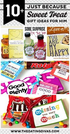 THE cutest gift ideas just because! Hubby will love allllll of these!