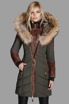 Slim quilted down puffer  by Nicole Benisti