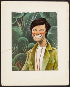 Alan Alda in M*A*S*H by Al Hirschfeld (TV Guide, Eastman Color Dye Transfer Print X - Available at Sunday Internet Movie Poster. Jc Leyendecker, Alan Alda, Celebrity Caricatures, Black And White Portraits, Tv Guide, Pencil Portrait, Funny People, Great Artists, Illustrators