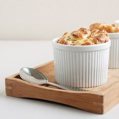 Prosciutto and Cheese Soufflé