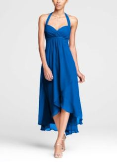 Shayla refuses to wear anything but this dress, either in Horizon or Marine, for either wedding dress choice.  Hope they can make it in Junior Bridesmaid...