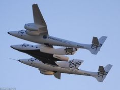 Lift off! Virgin Galactic takes SpaceShip 2, for test drive ...