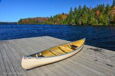 Canoe Lake, Algonquin Park Algonquin Park, Highlands, Outdoor Furniture, Outdoor Decor, Canoe, Sun Lounger, Boat, Autumn, Beautiful