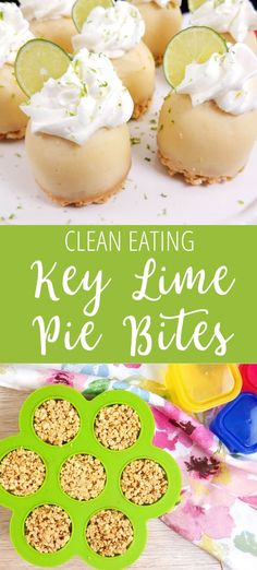 These Key Lime Custard Bites are a healthy dessert recipe! I love using my egg bite molds for quick desserts. These healthy key lime pie bites can be made in the Instant Pot or oven using egg bite molds or cupcake tins. Recipes Using Egg, Lime Recipes, Mini Egg Recipes, Ninja Recipes, Copycat Recipes, Pavlova, Mini Key Lime Pies, Key Lime Tart, Key Lime Bites