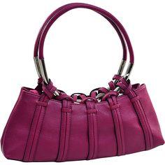 8d7a46dc7e Dasein Dual Ring Strap Shoulder Bag Purple Dasein Manmade Handbags Pink  Shoulder Bags