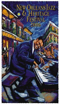 Rhythm and Blues......New Orleans Jazz & Heritage Festival 2006....Fats Domino