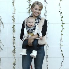 Borelli Park City infinity scarf, Mommy + Me collection