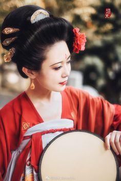 微博 Anatomy Sculpture, Oriental, Chinese Clothing, Traditional Outfits, Traditional Chinese, Hanfu, Asian Fashion, Asian Beauty, Women Wear