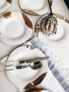 dinner plate White ceramic dinner plate - Handmade pottery dinnerware - Stoneware salad plates by Julia Pilipchatina ceramic studio Tiletiletesto Ceramic Plates, Ceramic Pottery, Slab Pottery, Thrown Pottery, Pottery Plates, Ceramic Art, Black And White Plates, Four Micro Onde, Stoneware Dinnerware