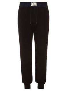 MARC JACOBS Nylon And Cotton-Jersey Track Pants. #marcjacobs #cloth #pants