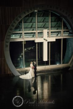 Evening at tepapa museum. PaulMichaels Wellington wedding photography http://www.paulmichaels.co.nz/