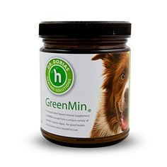 GreenMin for dogs - All natural mineral supplement , up to 5 months supply *** Visit the image link more details. (This is an affiliate link and I receive a commission for the sales)