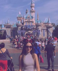 goes to disney to take 5000 pictures in front of the castle and buy minnie ears by angvioletxo
