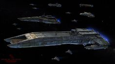 The center of the Wing Commander community features news, information, tech support and conversation about the computer game series. Spaceship Art, Spaceship Design, Concept Ships, Concept Art, Stargate Ships, Planet Design, Starship Concept, Sci Fi Spaceships, Space Battles