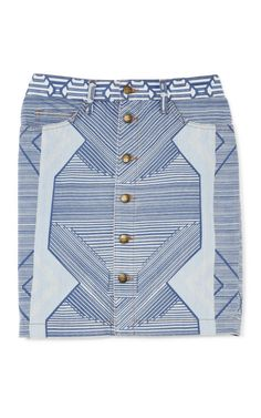 The Tammy Skirt by Current/Elliott Now Available on Moda Operandi