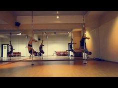Misty Blue - Contemporary Pole Dance