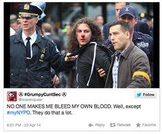 Polícia de NY pediu para enviar fotos com policiais pelo Twitter, adivinha no que deu - Blue Bus