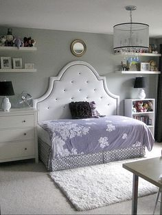 cutting a king headboard to make daybed - Google Search