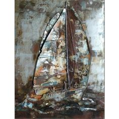 'Sailing' - Metal Wall Art - Art & Decor - Shop By Product