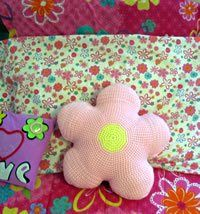 Fun Flower Pillow