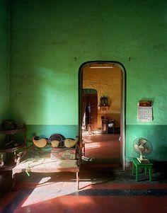 Alvares Residence, Music Room #1, Margao, Goa, India by Robert Polidori