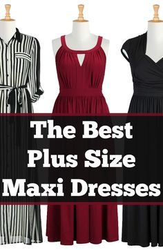 The Best Plus Size Maxi Dresses | Sleeves, Sleeveless | These plus size maxi dresses are adorable and look so comfortable!
