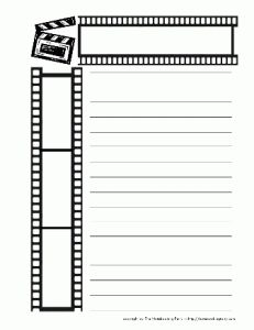 1000 images about hollywood themed classroom on pinterest for Script writing template for kids