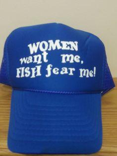 77c63cd6986d4 Men s Hat Baseball Cap Trucker Mesh Snap Back Women fish Retro Style   fashion  clothing