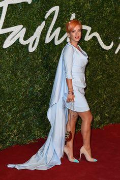 Pin for Later: Les Stars Se Sont Mises Sur Leur 31 Pour Les British Fashion Awards Lily Allen