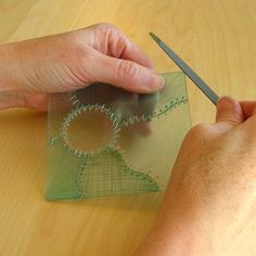 sew clear plastic pieces together