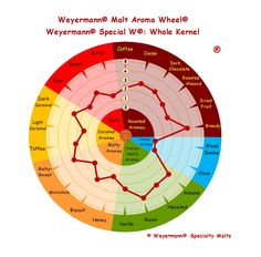 Weyermann® Malt Aroma Wheel® Special W® - Whole Kernel