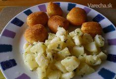 Vyprážaný syr inak - Recept Russian Recipes, Ricotta, Potato Salad, Cauliflower, Recipies, Potatoes, Vegetables, Ethnic Recipes, Food