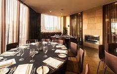Melbourne restaurant   Dinner set-up   private dining