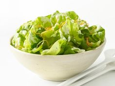 Get Green Salad With Buttermilk Dressing Recipe from Food Network