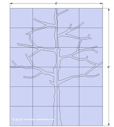 Free DIY Plans and Step by Step Video Tutorial on How To Make a Modern Tree Shaped Bookshelf - The Design Confidential Tree Bookshelf, Bookshelves, Tree Shelf, Diy Bookshelf Plans, Cardboard Tree, Tree Plan, Tree Shapes, Decoration Design, Diy Wood Projects