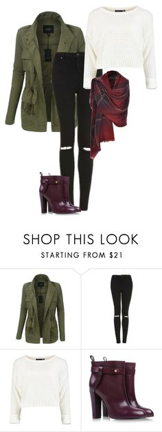 """""""AB2 - CH6"""" by cutiestiles ❤ liked on Polyvore featuring LE3NO, Topshop and Sergio Rossi"""