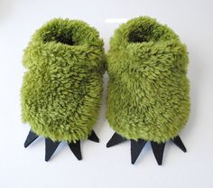Green Monster Slippers!! must have