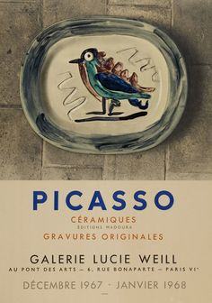 treebystream:  Pablo Picasso - Céramiques, Galerie Lucie Weill