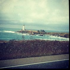 Central California lighthouse