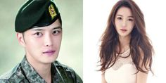 Nam Gyu Ri cheers on Jaejoong in the army | http://www.allkpop.com/article/2016/03/nam-gyu-ri-cheers-on-jaejoong-in-the-army