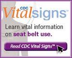 CDC Seatbelt Safety
