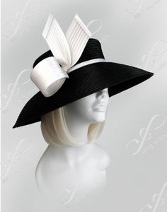 ladies fashion hats for church | Wide Brim Church Hats
