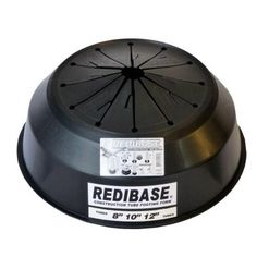 redi base 8 in x 24 in disposable plastic footing for in ground