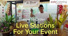 How to Order Live Stations for Your Event - Read here: http://eatzcatering.com/blog/how-to-order-live-stations-for-your-event/. For a halal certified food caterer in Singapore go here:http://eatzcatering.com #eatzcatering #caterer #catering #livefoodstation #singaporecatering