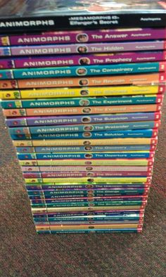These were the coolest books about kids that could change into animals - the Animorphs Book Series